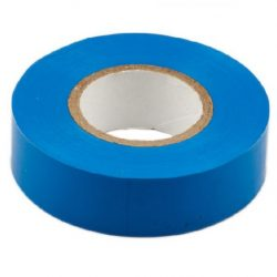 Durite  0-557-02 Tape Adhesive PVC Blue 19mm x 5 metre bg12