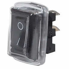 Durite 0-530-51 Switch Rocker On/Off Black with Cover bg1