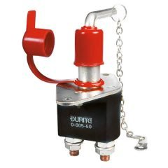 Durite 0-605-50 Battery Switch 250 amp with Removable Key and lockout hole Bg1