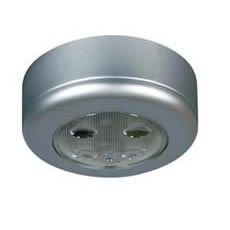 Durite 0-668-04 Roof Lamp Silver with Switch LED 12/24volt