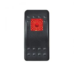 Red Lens for Single-Illuminated Rocker Switch 0-795-97