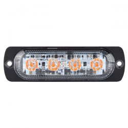 Durite 0-441-71 R10 High Intensity 4 Amber LED Warning Light